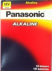 Bateria Panasonic Power Alcalina 12V C/ 10X01