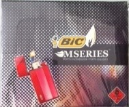 Isqueiro Bic Ligther Case M3 Metal