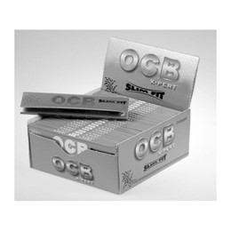 Papel OCB Slim Fit Prata