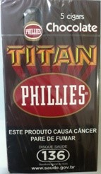 Phillies Titan Chocolate Maço