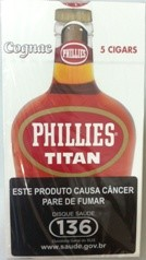 Phillies Titan Conhaque Maço